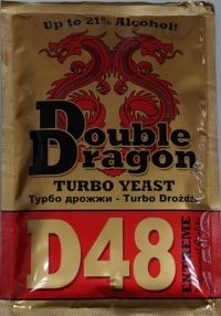 Дрожжи DoubleDragon D48, 132 г