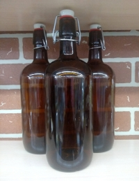 Бутылка с бугельным замком 1 литр
