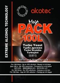 Дрожжи MEGA PACK 100L (Alcotec)