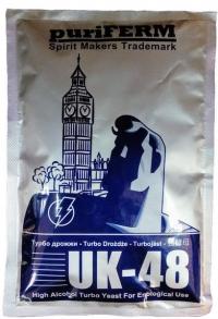 Дрожжи TURBO UK-48