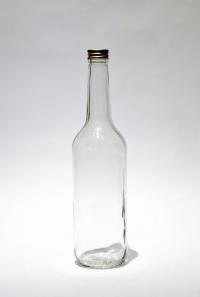 Бутылка с колпачком закруткой 0,5 л