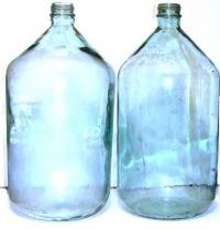 Бутыль стеклянный 20 литров