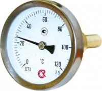 Термометр биметаллический 0-120°