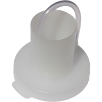 Крышка полиэтиленовая с гидрозатвором