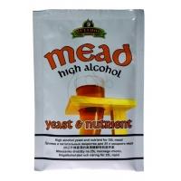 Дрожжи для медовухи BullDog Mead