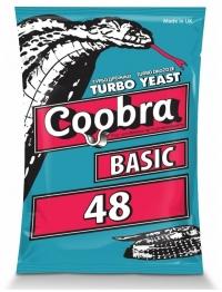 Спиртовые Турбо дрожжи Сoobra Basic 48