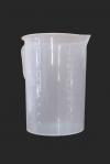 Мерный стакан 5 литров (пластик)