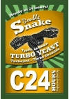 Turbo C24 Duble Snake yeast