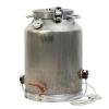 Фляга (бидон) 38 литров с ТЭН 1,2+1,5кВт