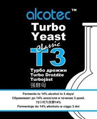 Турбо дрожжи Т3 (Alcotec)