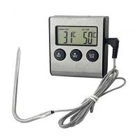 Термометр щуп с сигнализацией и таймером